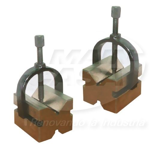 JGO. BLOCK EN V BASE 1-3/4 CAP 1 CON CLAMP